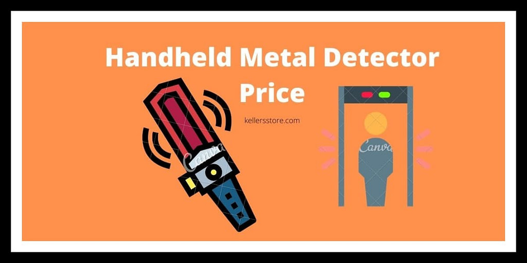 Handheld Metal Detector Price