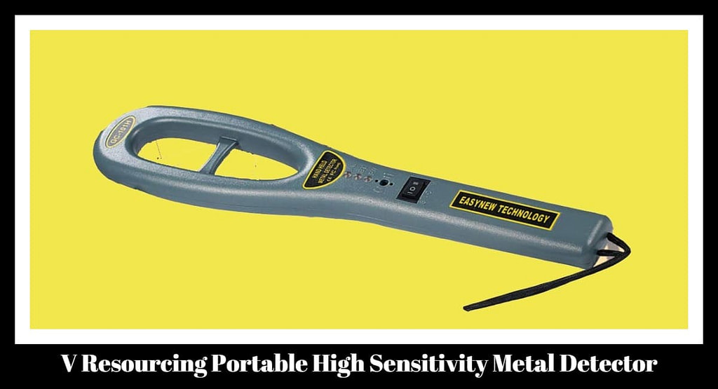 V Resourcing Portable High Sensitivity Metal Detector