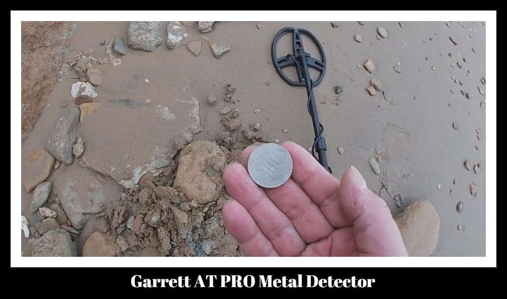 Metal Detecting Garrett AT Pro