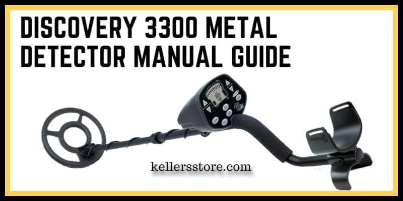Discovery 3300 Metal Detector Manual Guide