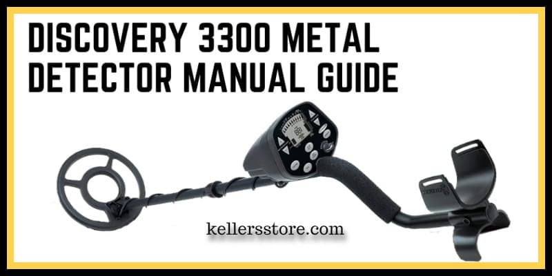 Discovery 3300 Metal Detector Manual Guide